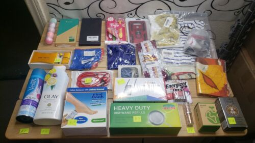 Amazon wholesale lot of 25 items  General Merchandise $120 + value