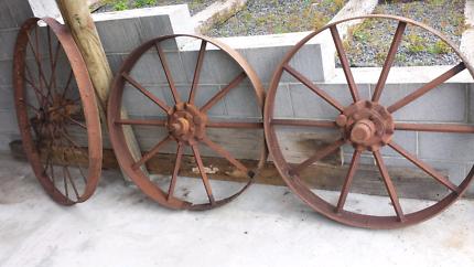 Steel Wheels x 3