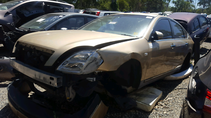 2004 NISSAN MAXIMA GOLD FOR WRECKING