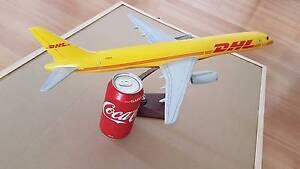 DHL AIRCRAFT DESK BOEING 757 METAL PLANE model project Elizabeth Vale Playford Area Preview