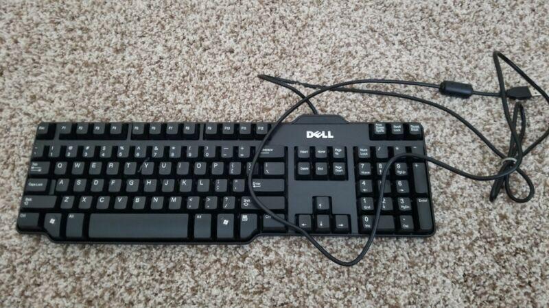 Dell OEM Genuine USB 104-key Black Wired Keyboard (L100) R41097