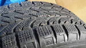 4 Winter Tires on Rims BF GOODRICH Winter Slalom 215/70R16