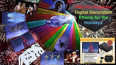VIRTUAL SANTA Projector, 4 PROJECTORS DISCOUNT BY JON - Halloween Decorations Discount