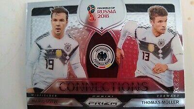 Müller Gotze Alemania 2018-world cup ☆ dúos ☆ Football Insert Cards mint