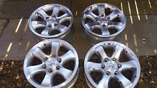 TOYOTA RIMS SET OF 4 WITH BOLTS Moorooka Brisbane South West Preview