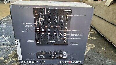 NEW! Allen & Heath Xone:43 Analog 4+1 Channel DJ Mixer