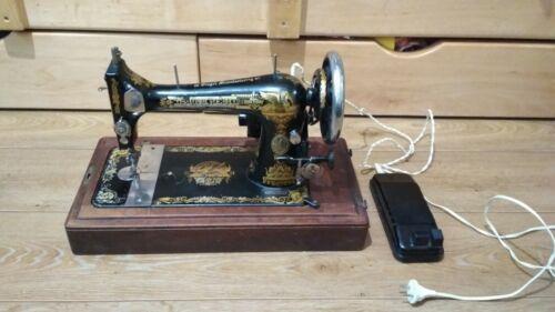 Antique sewing machine Singer.