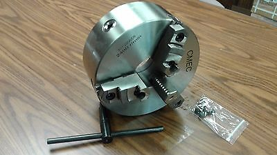 10 3-jaw Self-centering Lathe Chuck D1-6 Mounting--0.003 Tir--new