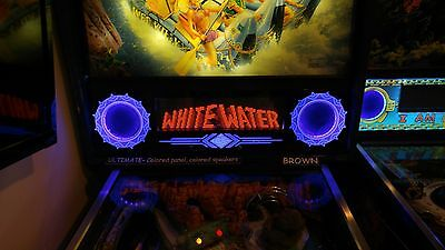 White Water WW - Lighted Pinball LED Speaker Panel - ULTIMATE