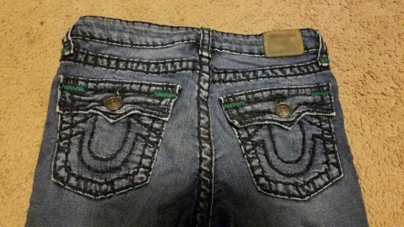 True Religion Boys Rocco Super T jeans, Size 12