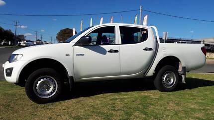 2011 Mitsubishi Triton Dual Cab 4x2 Ute Manual Wangara Wanneroo Area Preview