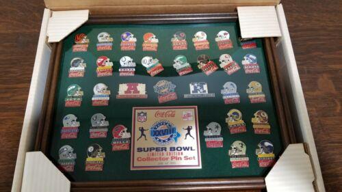 NEW Superbowl XXVIII 1985 NFL Coca-Cola Limited Collector Set Cowboys Win