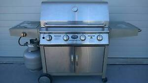 Jackeroo 4 Burner BBQ with side burner - Professional 4 SZ Charlestown Lake Macquarie Area Preview