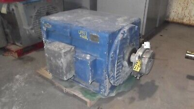 400 Hp General Electric Ac Electric Motor 1200 Rpm Fr 8288s Dpbb 4000 V Eok