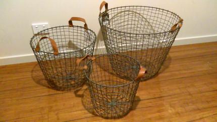 Industrial Baskets - Robert Gordon - Brand New