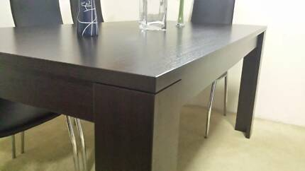 Chocolate Timber Dining Table