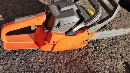 HUSQVARNA SOLID CHAIN SAW 20''.NEW MODEL.MADE IN GERMAN
