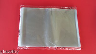 "200 8 1/4 x 10 1/8"" Clear Resealable Cello Poly Cellophane Bags for 8x10 prints"