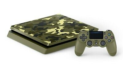 NEW Playstation 4 PS4 1TB Call of Duty: World War II Limited Edition Console