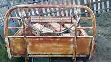 HZJ75 Landcruiser Steel Tray Singleton Rockingham Area Preview