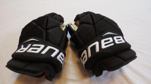 "Used Ivan Provorov Bauer Vapor 1X Pro Stock Flyers 14"" Hockey Gloves! MeiGray"