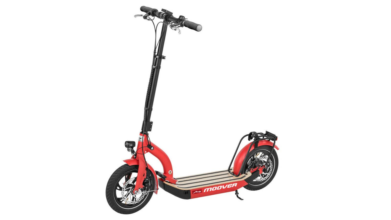 Metz Moover E-Scooter mit Straßenzulassung und 12 Zoll Luftreifen