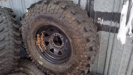 "4x4 Mud Tyres 33"" inch Simex toyota Hilux Patrol nissan lift 4wd Pascoe Vale Moreland Area Preview"
