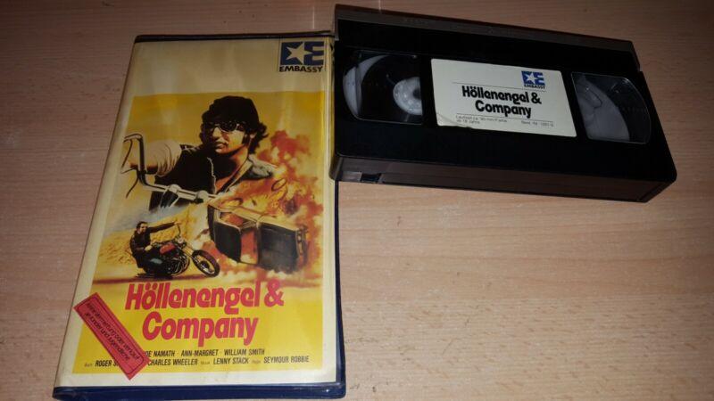 Höllenengel & Company - Ann Margret - Embassy Verleihtape - VHS - ab 18