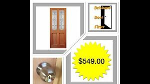 Glazed Entrance Diamond timber entry door. Fully installed $549.00 Boondall Brisbane North East Preview