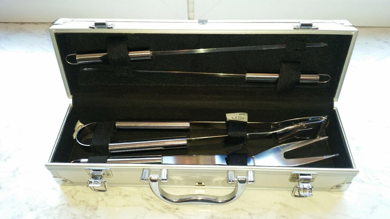 Home Grillkoffer 4-teilig komplett unbenutzt wie WMF