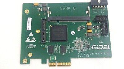 Board Gidel Procspark Iv115-b Rev 02 Iv115-b Altera Cyclone Iv Used