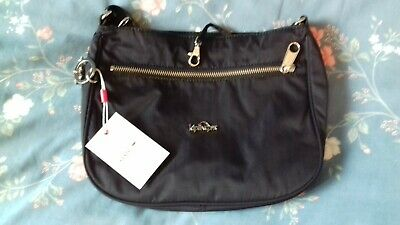 BNWT KIPLING NAVY SHOULDER/CROSS BODY BAG