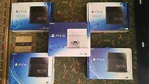 New Sony PS4 Glacier white 500GB,  Jet Black 500GB,  1TB, 2TB Ingle Farm Salisbury Area Preview