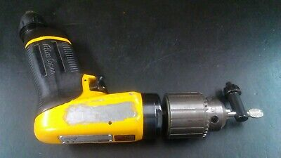 Atlas Copco 2400 rpm air drill mounted on cnc Block