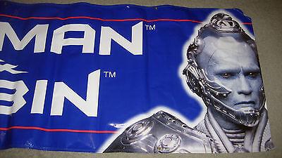 1997 Batman & Robin Movie Taco Bell Mr. Freeze 3' by 8' Banner Schwarzenegger