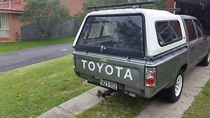 1992 Toyota Hilux Ute Frenchs Forest Warringah Area Preview