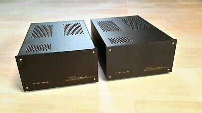 2xAVM Mono Block M1 Evolution Monoblöcke Amplifier Verstärker High End HiFi