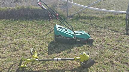 Electric mower and wipper snipper Charlton Buloke Area Preview
