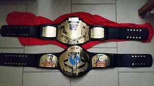 Wwe wcw ECW TNA title belt Pacific Pines Gold Coast City Preview