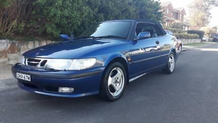 Saab 9.3 convertable sports car Auto