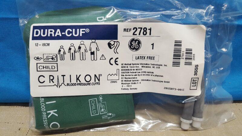 GE Critikon DURA-CUF 2781, Child, BP Cuff (SINGLE CUFF)
