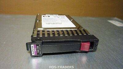 "HP 512544-004 146GB 15K SAS 2,5"" 6G DP SFF HARDRIVE FROM DL380 G5 391835-B21"