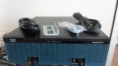 CISCO 3945E-SEC/K9 4-Port Gigabit Security Router 4gigDRAM seck9 -