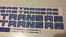 TRANS AM vehicle decals Nairne Mount Barker Area Preview