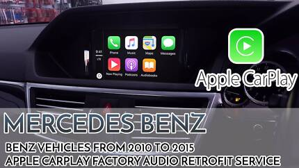 Mercedes Benz C-Class / E-Class Apple CarPlay Factory Integration