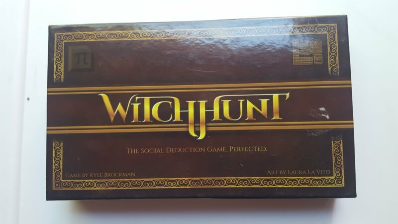 Witchhunt game by Kyle Brockman & Laura La Vito