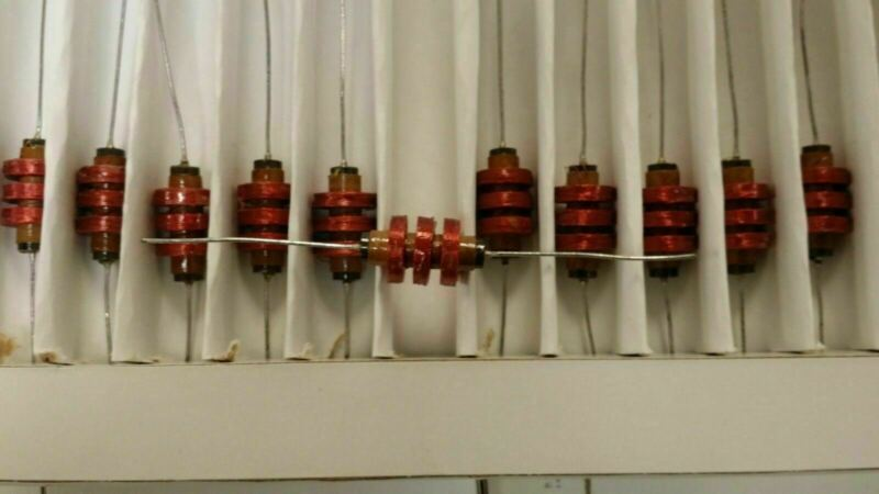 (5PCS) 4671 Choke Wirewound 8.2mH 5% 1KHz 83Q-Factor Iron 100mA 46Ohm DCR AXL