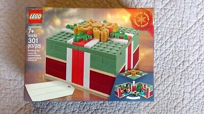 Lego 40292 Buildable Holiday Present Christmas Gift 301pcs *RETIRED factory Seal