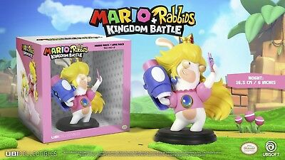 New Mario Rabbids Kingdom Battle Ubisoft Rabbid Peach 6  Figure Ubc50rkb05000 Ff