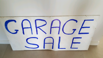 Garage sales every thing must go